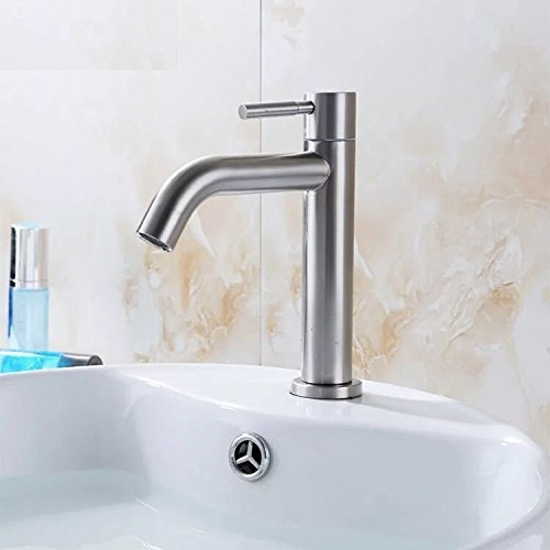 Gyps Faucet Basin Mixer Tap Waterfall Faucet Antique Bathroom Mixer Bar Mixer Shower Set Tap Antique Bathroom Faucet Basin taps 304 Stainless Steel Cold Water Slot Blender wan,Modern Bath Mixer Tap