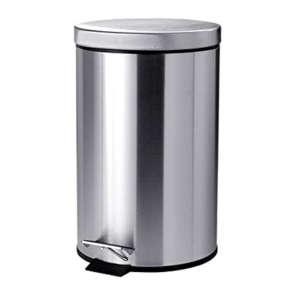 IKEA STRAPATS - cubo de basura con Pedal, de acero ...