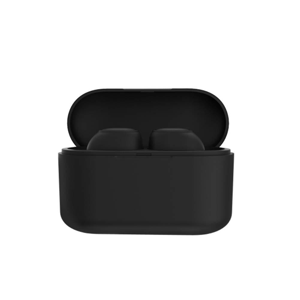 LinSHdi426 Q3 TWS Ture Wireless Bluetooth Earphone Sports Stereo Bass in-Ear Earbuds True Wireless Bluetooth Earbuds in-Ear Stereo Bluetooth Headphones Wireless Earphones Bluetooth 5.0 Black