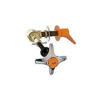 INSTOCK TS-3185-N - Soporte de nitrógeno para campana extractora, color marrón: Amazon.es: Amazon.es