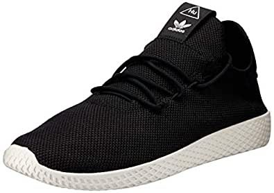 adidas Originals Pw Tennis Hu Shoes 5.5 B(M) US Women / 4.5 D(M) US Cblack/cblack/cwhite