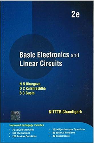 Basic Electronics and Linear Circuits: Amazon co uk: N N