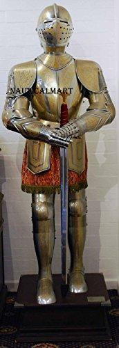 NauticalMart Medieval Knight Full Suit of Armor Costume LARP Armor Halloween Costume