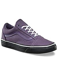VansOld Skool - Old Skool Core Classics para Mujer Hombres, Montana Grape/Black, 5.5 B(M) US Mujeres / 4 D(M) US Hombres