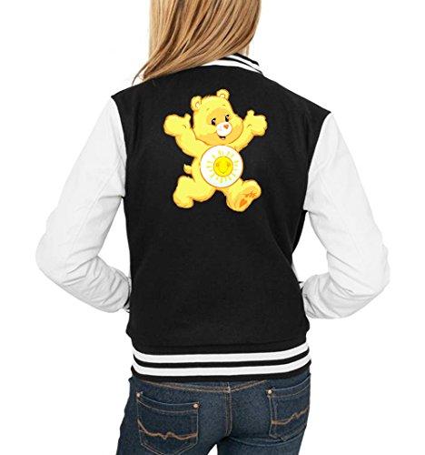 Girls Sunny Certified Freak Nero Vest Bear College r8nqvfS8
