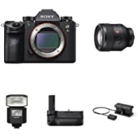 Sony a9 Full Frame Mirrorless Interchangeable-Lens Camera w/ SEL85F14GM Lens & Accessories