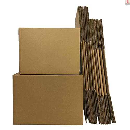UBOXES Moving Boxes, Large 20 x 20 x 15 Inches (Bundle of 12) Boxes for Moving (BOXBUNDLAR12)