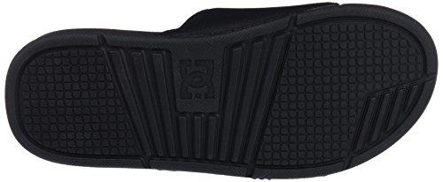 DC Men's Bolsa Beach and Pool Shoes, Black, 9.5 UK Black (Black/Black/Black 3bk)