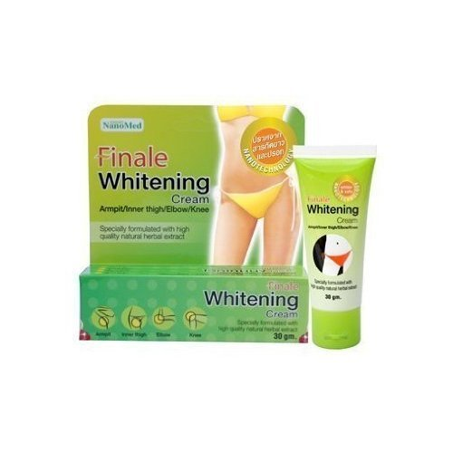 Finale Whitening Cream 30g. Armpit/inner thigh/elbow/knee. Specially formulated from high quality natural herbal... ( Hot Items ) by gole