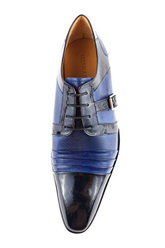 Melvin Chaussures Bleu Ville Hamilton amp; Homme Bleu pour à 41 MH15 EU Lacets de 525 wAxBwIrqf