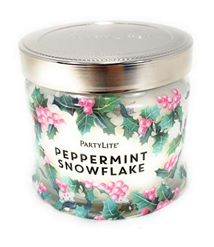 (Partylite Signature Jar Candles (Peppermint Snowflake))
