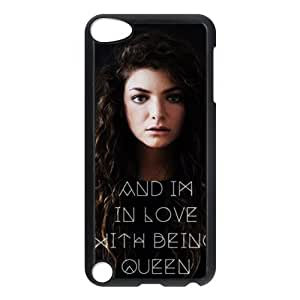 CTSLR Lorde Royals Protective Hard Case Cover Skin for iPod Touch 5 5G 5th Generation- 1 Pack - Black/White -2 by runtopwell