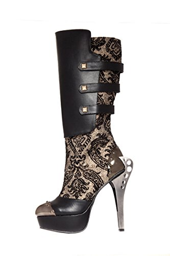 Hades, Laarzen Voor Dames & Enkellaars Zwart