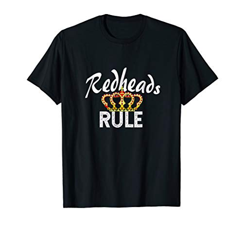 (Redheads Rule T-shirt)