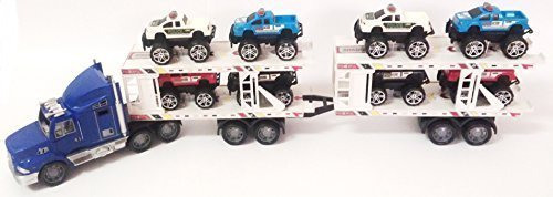 jeep and trailer toy - 1