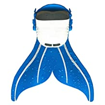BESTYLING Mermaid Fins, Mermaid Monofin Flippers Comfortable & Adjustable With Soft Strap, Professional Swimming Training Equipment for Children Best Swimming Toy for Your Kids