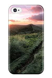 Cute Tpu AmandaSMartin Wooden Fence On The Field Case Cover For Iphone 4/4s wangjiang maoyi