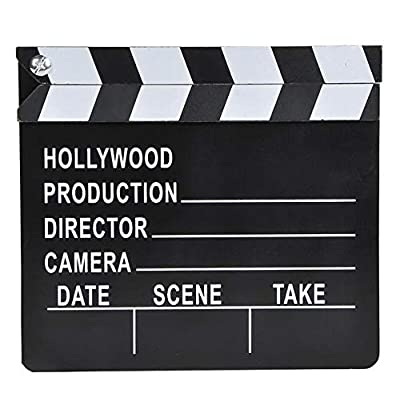 Rhode Island Novelty 7 Inch x 8 Inch Hollywood Movie Clapboard, One Per Order: Toys & Games
