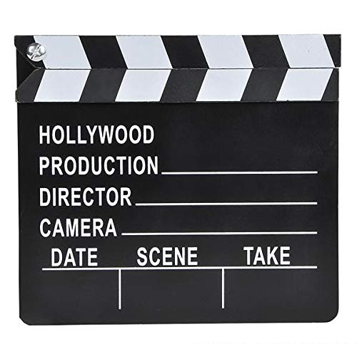 Hollywood Director's Film Movie Slateboard Clapper -