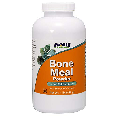 NOW Bone Meal,1-Pound (Pack of 2)