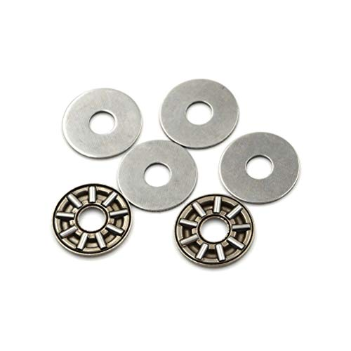 FidgetKute 4set AXK0619 Thrust Needle Roller Bearing with Two Washers 6mm x 19mm x 2mm AP
