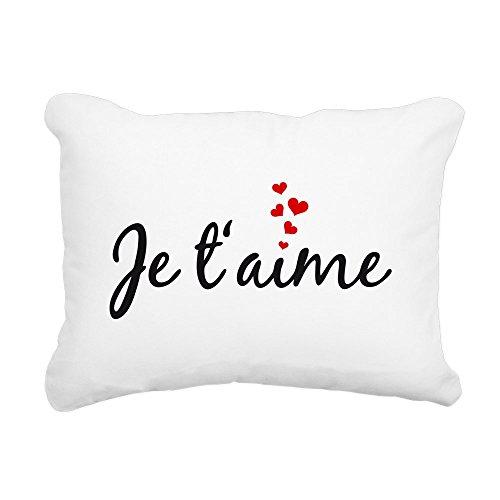 CafePress - Je Taime, I Love You, French Word Art Rectangula