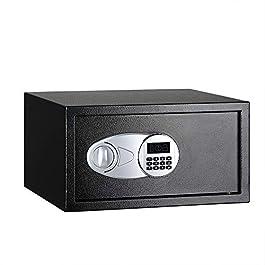 AmazonBasics Security Safe – 1-Cubic Feet,Black(28.31 litres)