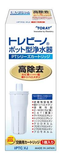 東レ トレビーノ ポット型浄水器 PTシリーズ交換用カートリッジ PTC.VJ