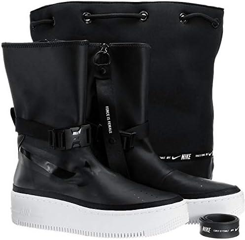Nike WMNS AF1 Sage Hi AQ2771 001 Damen Stiefel Schwarz 37,5