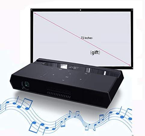 Link Co Proyector 3D Decodificación HD 4k Función WiFi de Doble Banda Dispositivo Bluetooth Conecta el teléfono inalámbrico con Tela de proyección Gratis: Amazon.es: Hogar