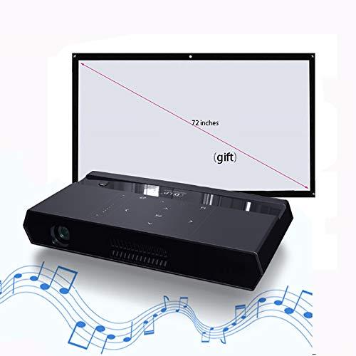 Link Co Proyector 3D Decodificación HD 4k Función WiFi de Doble ...