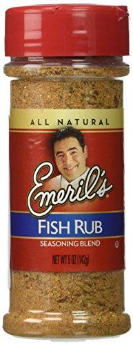 Fish Rub Seasoning (Emeril's Seasoning Blend, Fish Rub, 5 Ounce)