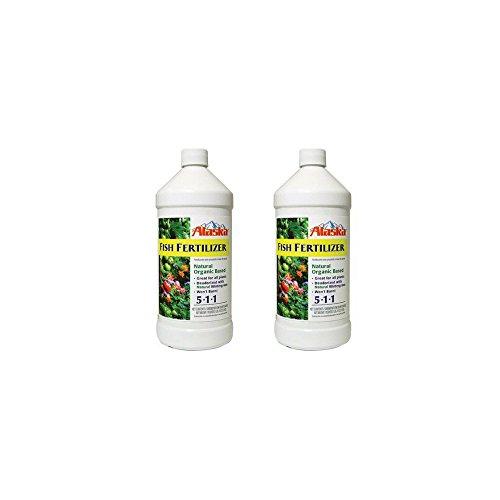 Lilly Miller Alaska Fish Fertilizer 5-1-1 Concentrate 1 Quart (2-Pack) ()