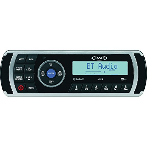 Jensen MS2ARTL AM/AM/FM/USB Bluetooth Stereo with App Control