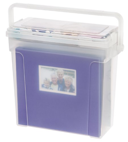 IRIS Portable Scrapbook File Clear
