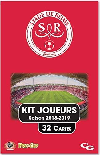 Procup Kit Joueurs Football Stade De Reims Saison 2018 2019