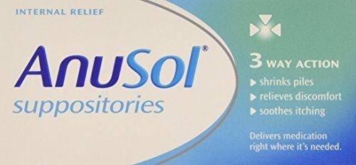 Anusol Suppositories 12 per pack by Anusol by Anusol