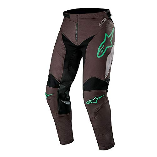 Alpine Stars Racer Tech Compass Pants MX Pants 34 inch Black Mid Gray Teal