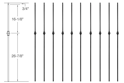 Iron Baluster Designs - 4