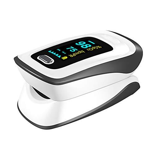 Vingertop-Pulsoxymeter, Bloedzuurstofverzadigingsmonitor Met Polsslagmetingen En Pulsstaafdiagram, Draagbare Digitale…