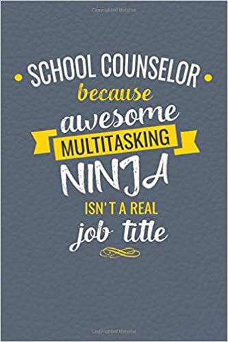 Amazon.com: School Counselor Because Awesome Multi-Tasking ...