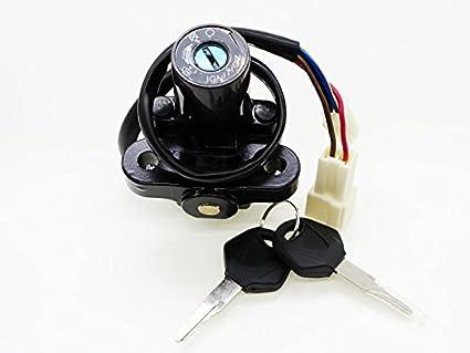 FXCNC Racing - Cerradura de encendido de 4 cables para ...