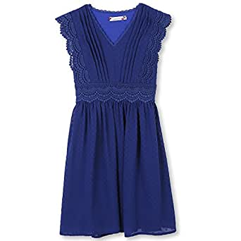 Speechless Girls' Big Sweet Easy Dress, Cobalt, 7