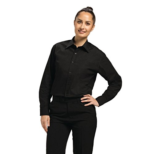"Mens Black Warten Shirt Größe: medium (40 ""- 41"")."