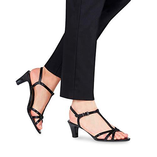 Cheville black Femme Tamaris Bride 28329 1 Patent 22 Noir 1 Sandales 18 qwzZwYf