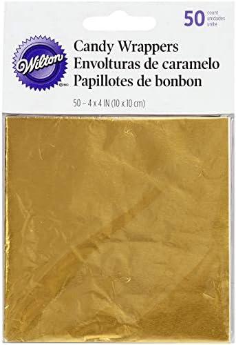 Wilton Foil Wrapper, Gold, WT-1904-1197