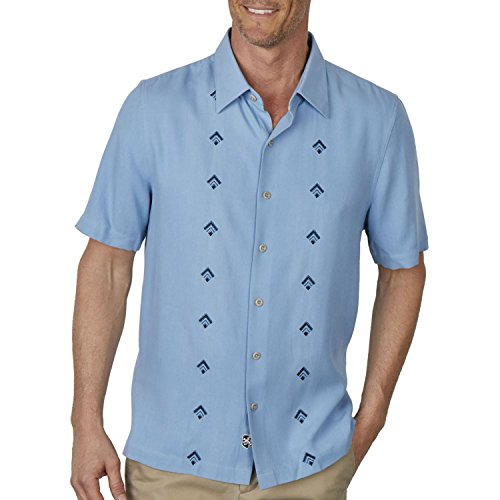 Nat Nast Nordic Camp Shirt - Icicle Blue - Nat Nast Camp Shirts