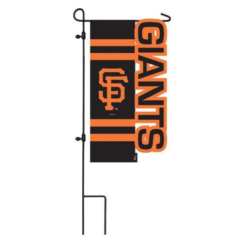 San Francisco Giants Sculpted Logo Garden Flag