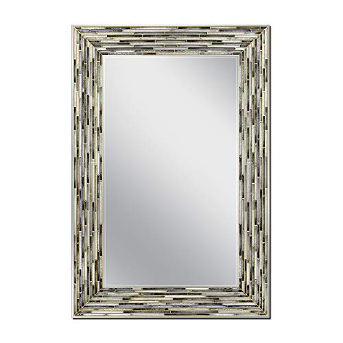 Head West Reeded Onyx Wall, 23.5 inches x 35.5 inches Mirror