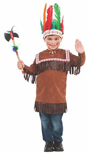 Rubies Cherokee Warrior Child Costume, Medium -